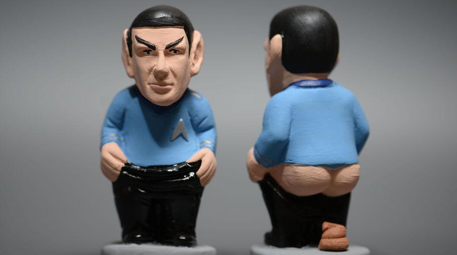 Spock caganer