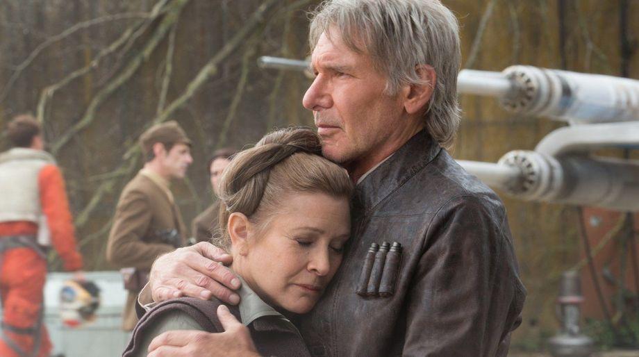 The Force Awakens Han and Leia