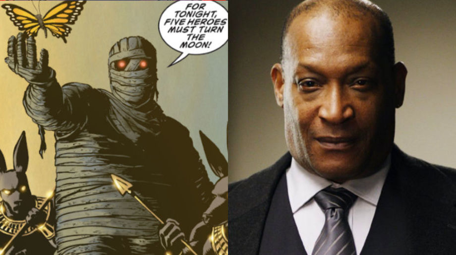 Tony Todd as the Mummy in the Moon