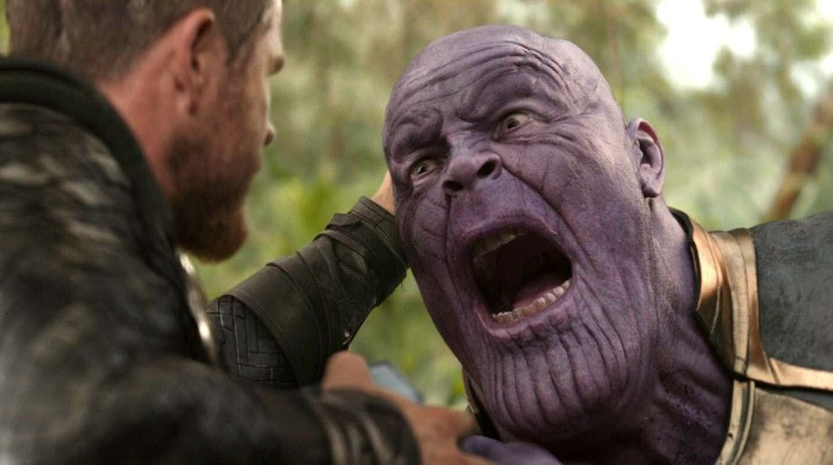 Thanos stabbed