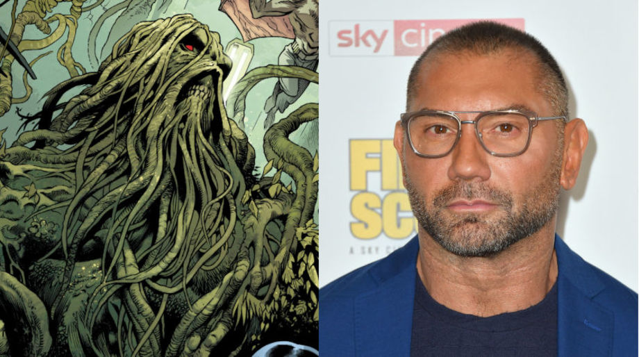 Dave Bautista as Swamp Thing