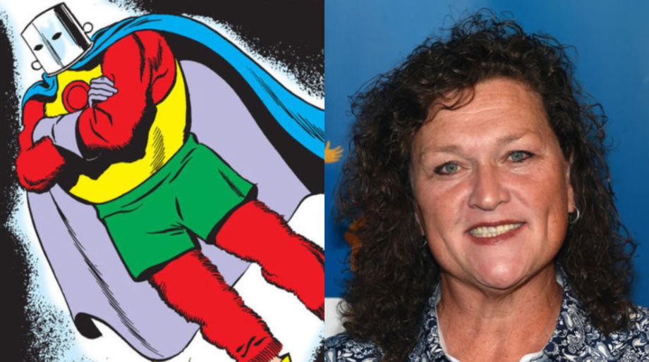Dot-Marie Jones as the Red Tornado