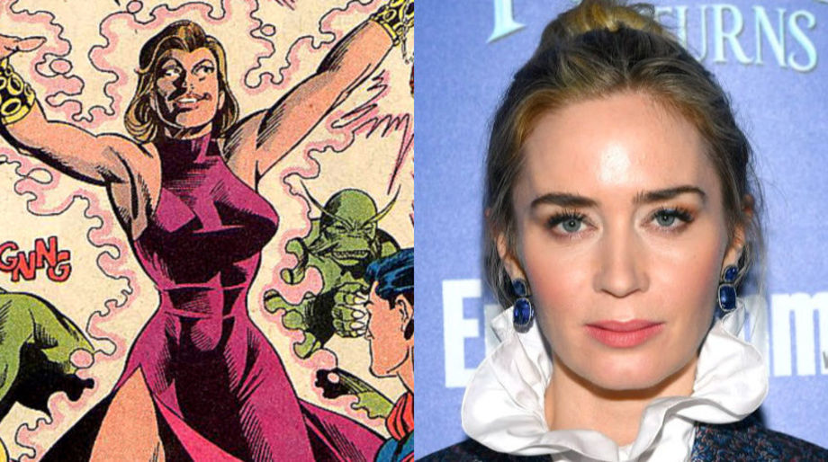 Emily Blunt as the Ultra-Humanite