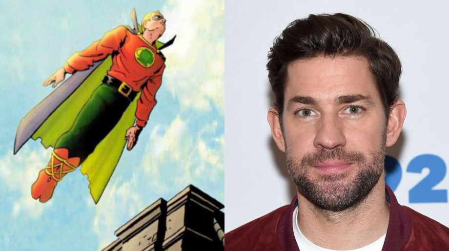 John Krasinski as Green Lantern
