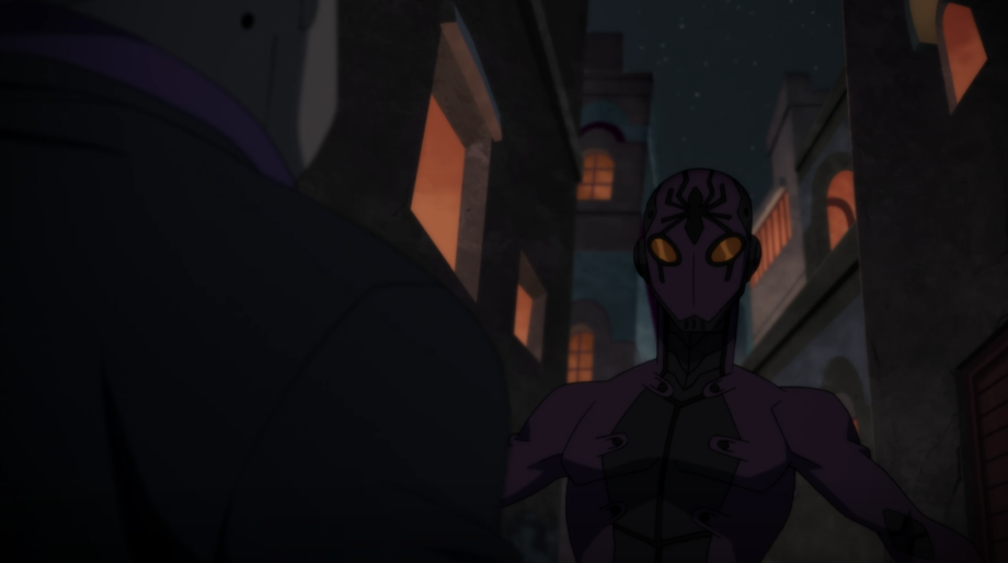 Black Spider, Young Justice