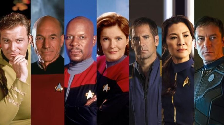 All Star Trek Captains