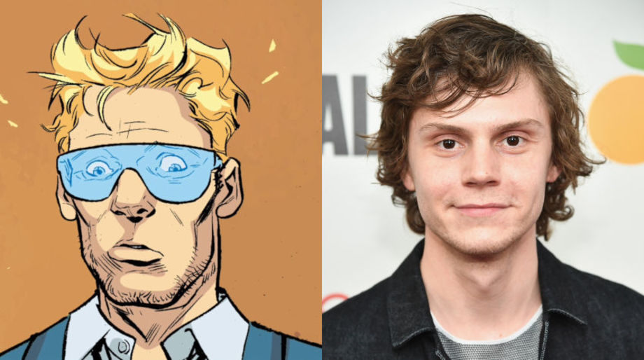 Evan Peters as Woody
