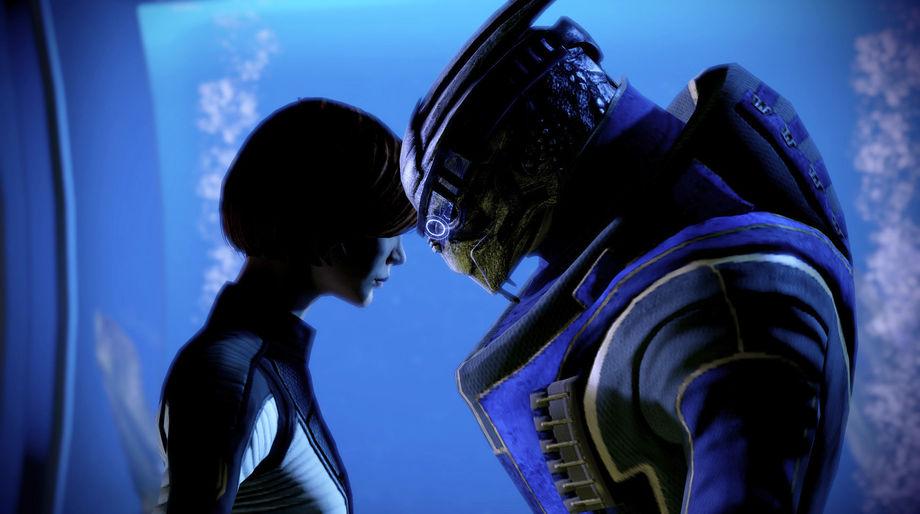 Mass Effect - Garrus and Shepard
