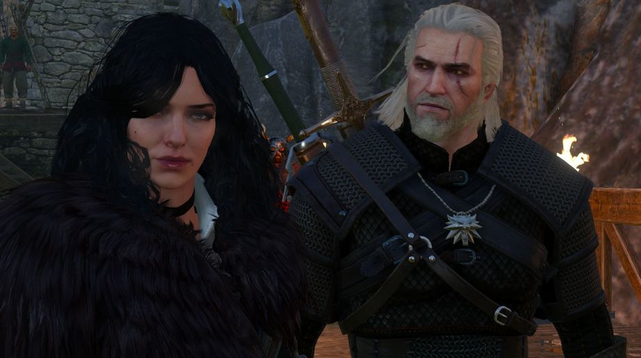 The Witcher 3 - Yennefer and Geralt