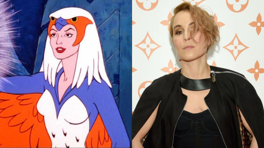 Noomi Rapace as the Sorceress