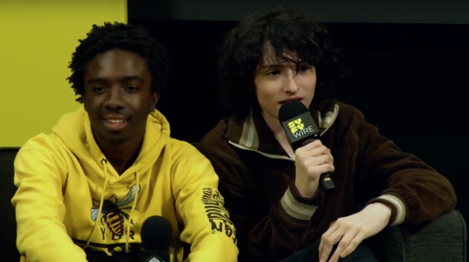 Stranger Things cast at ECCC