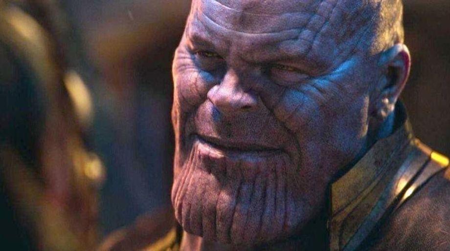 Thanos face