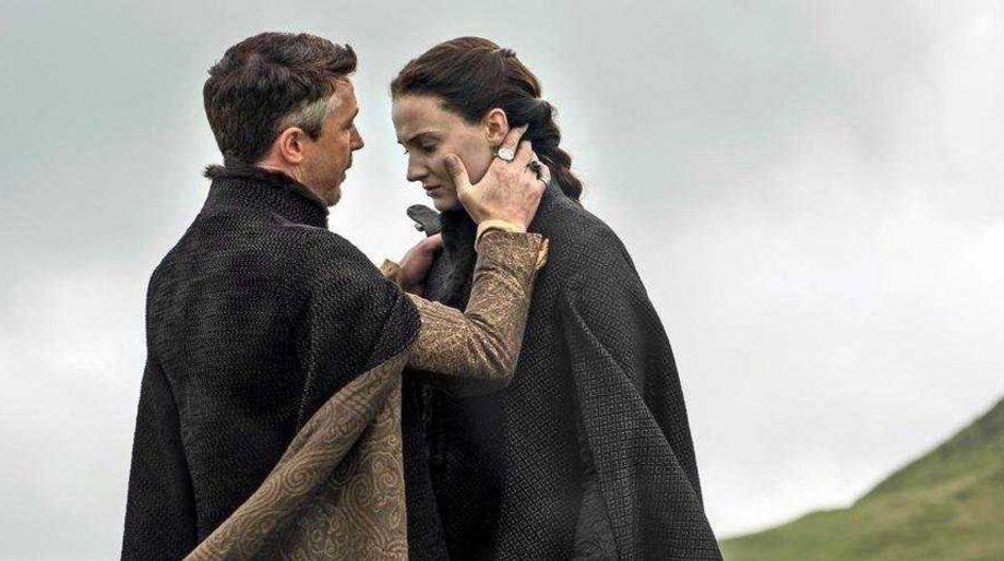 Littlefinger and Sansa in Game of Thrones