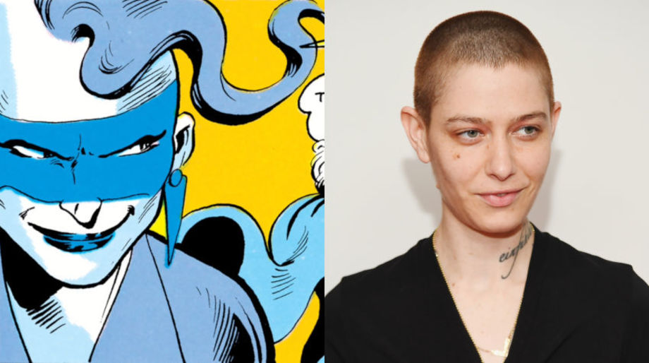 Asia Kate Dillon as New Wave