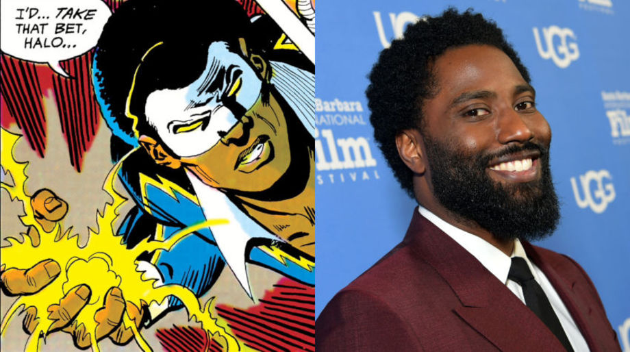 John David Washington as Black Lightning