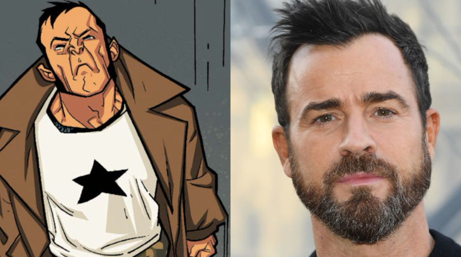 Justin Theroux as the Captain