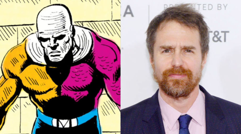 Sam Rockwell as Metamorpho