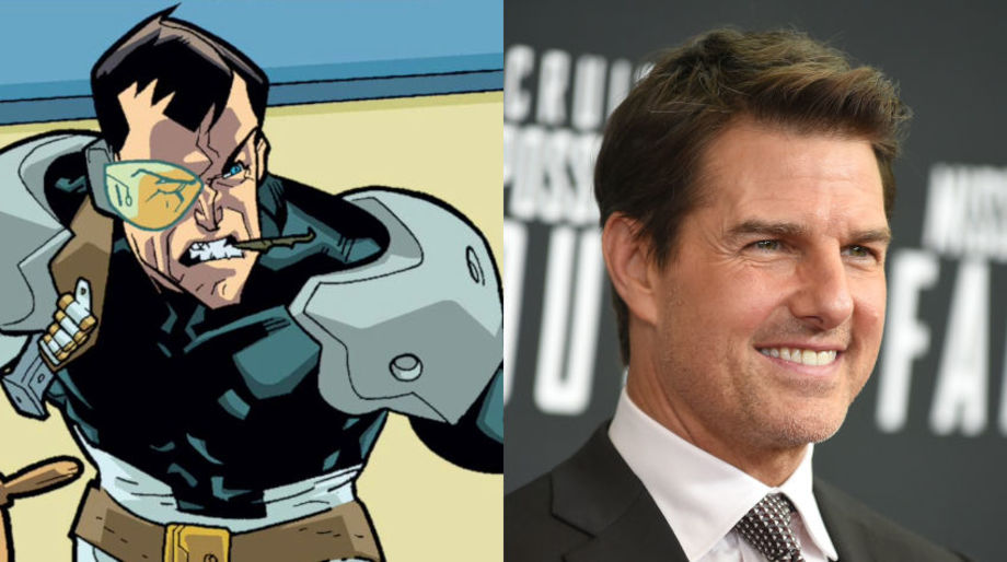 Tom Cruise as Dirk Anger