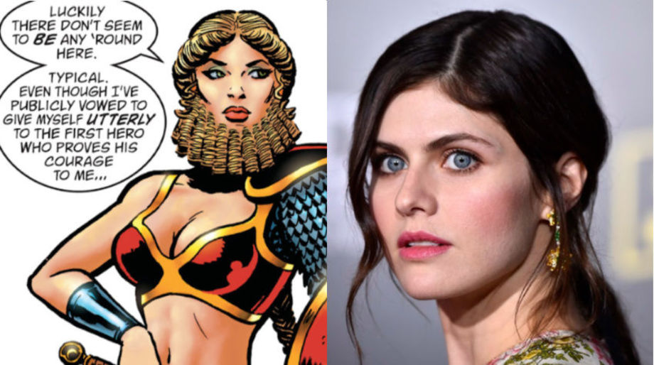 Alexandra Daddario as She-Beard