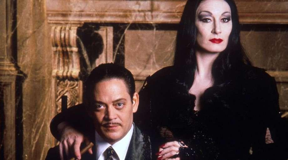 Gomez morticia and Morticia and