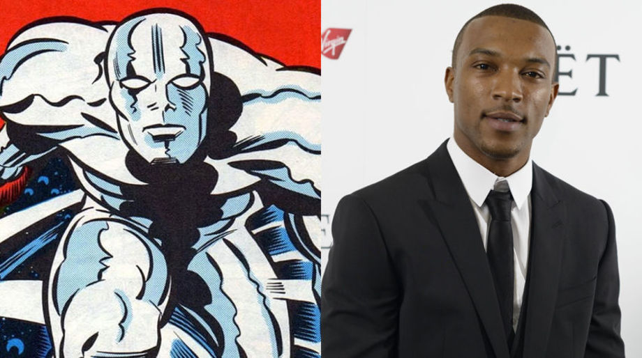 Ashley Walters as the Silver Surfer