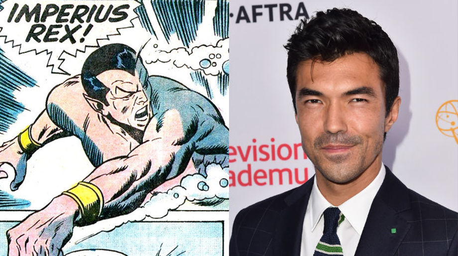 Ian Anthony Dale as Namor