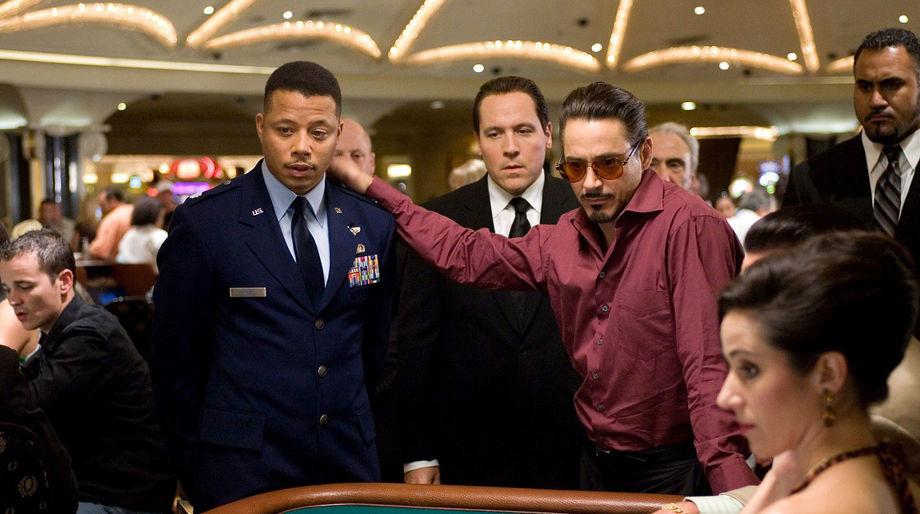 Iron Man (2008), Terrence Howard, Robert Downey, Jr.