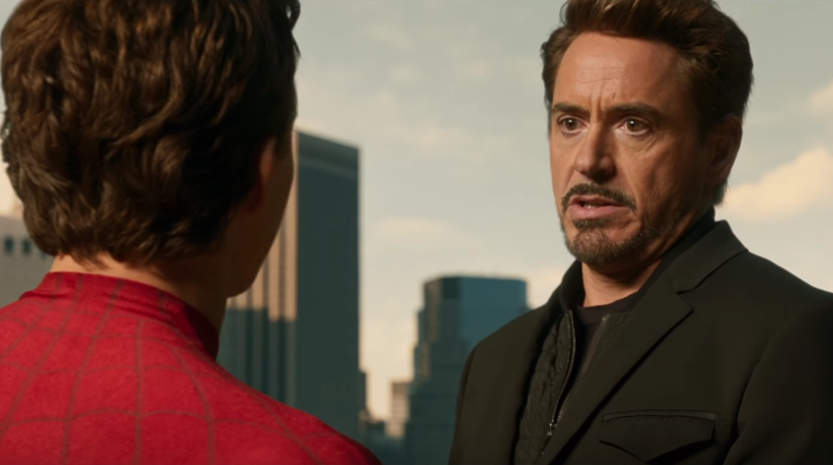 Tony Stark and Peter Parker, Spider-Man: Homecoming
