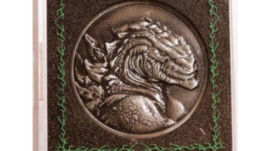 Godzilla 1998 coin