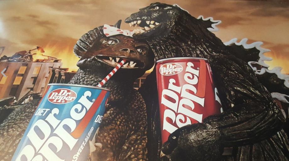 Godzilla Dr. Pepper