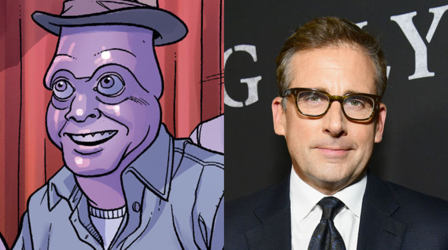Steve Carell as Squiddly Diddly