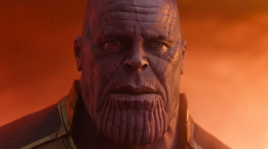 Thanos in Soul World