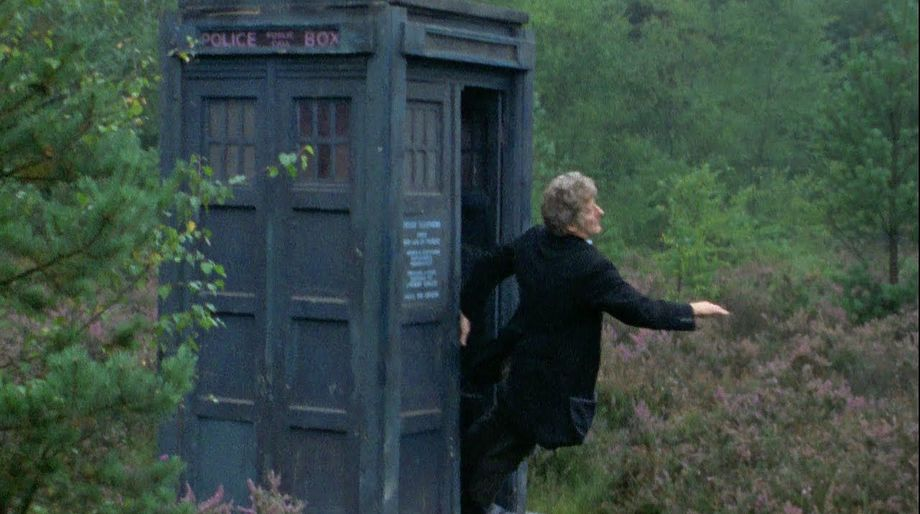 doctor falling out of TARDIS