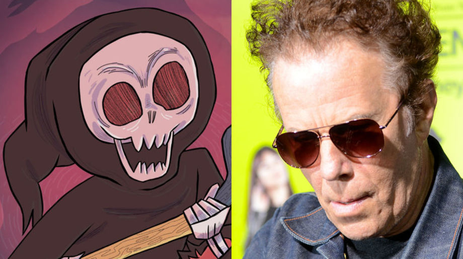 Tom Waits as a Grim Reaper