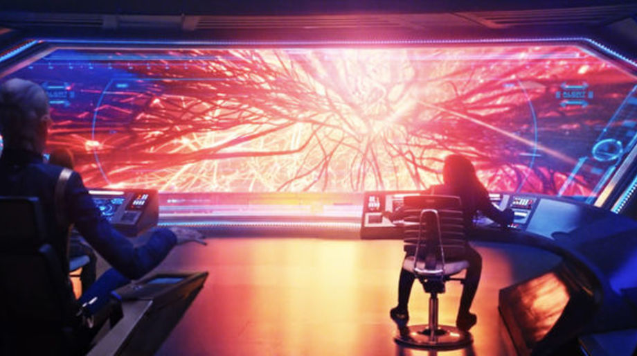 USS Discovery mycelial network