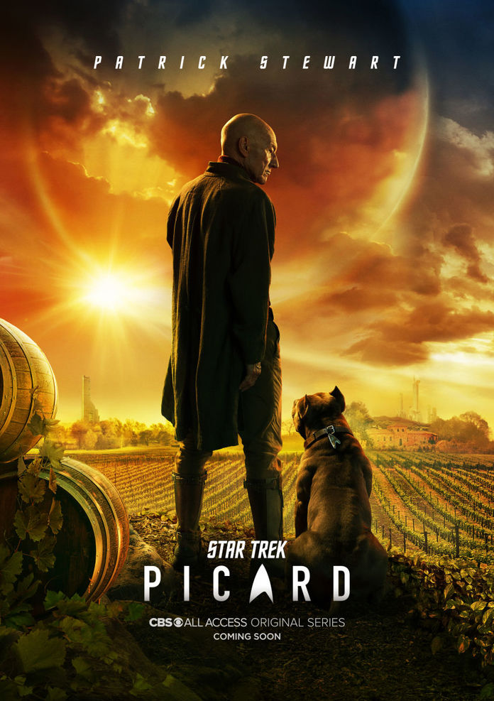 New Syfy Shows 2020 Star Trek Picard and Discovery updates, new Picard comics & novel