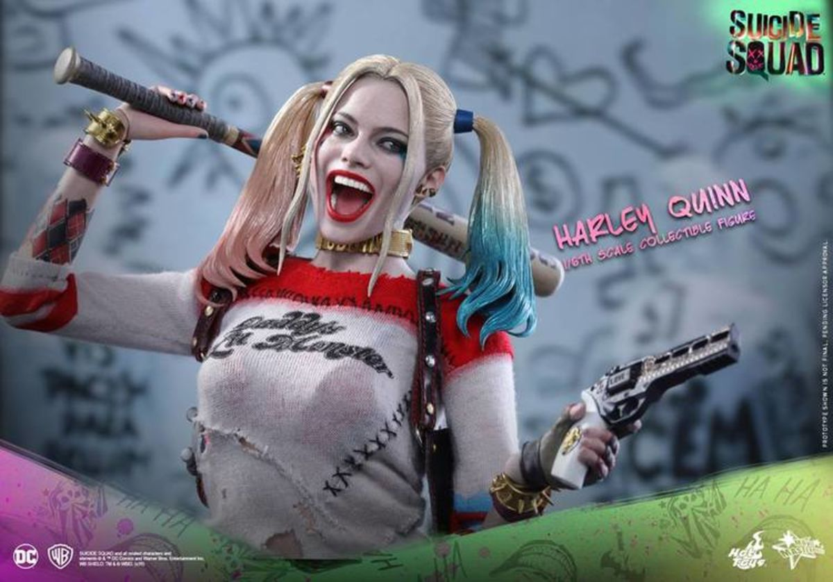 Hot Toys teases their deluxe Deadshot, Harley Quinn and