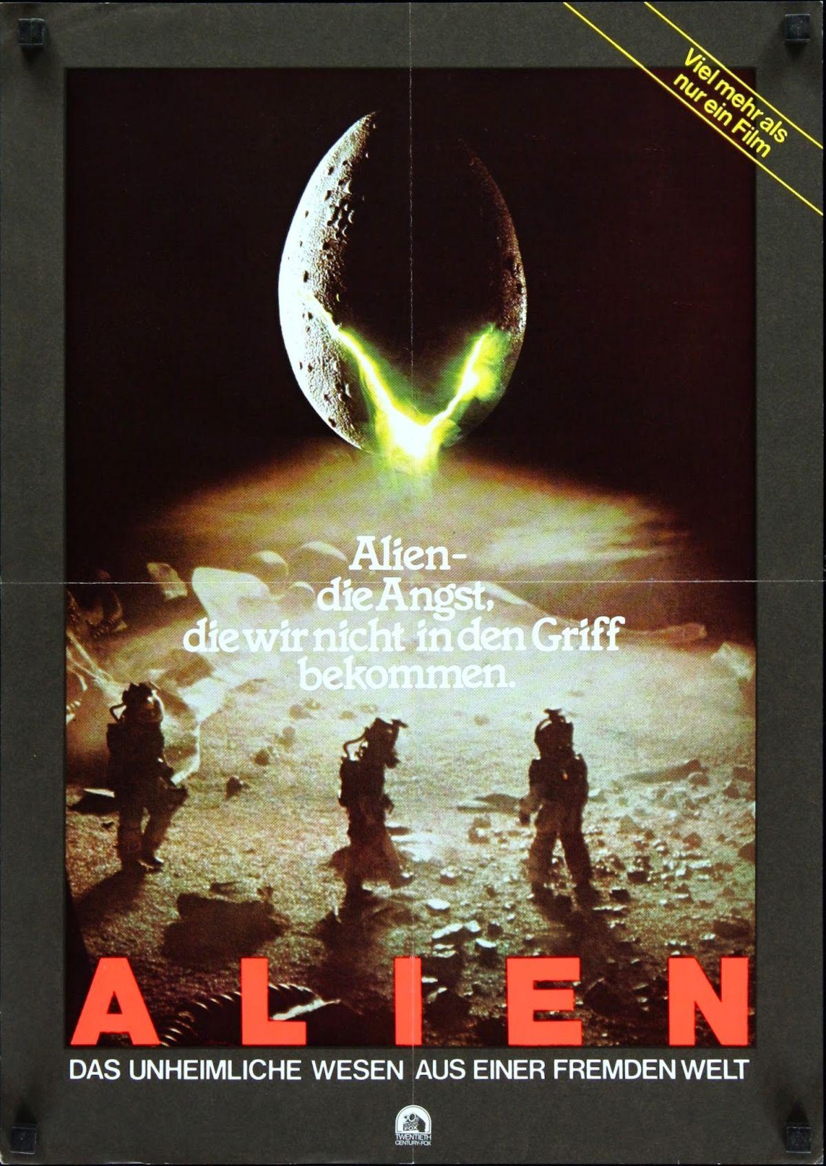 Crack open this international gallery of 23 original Alien