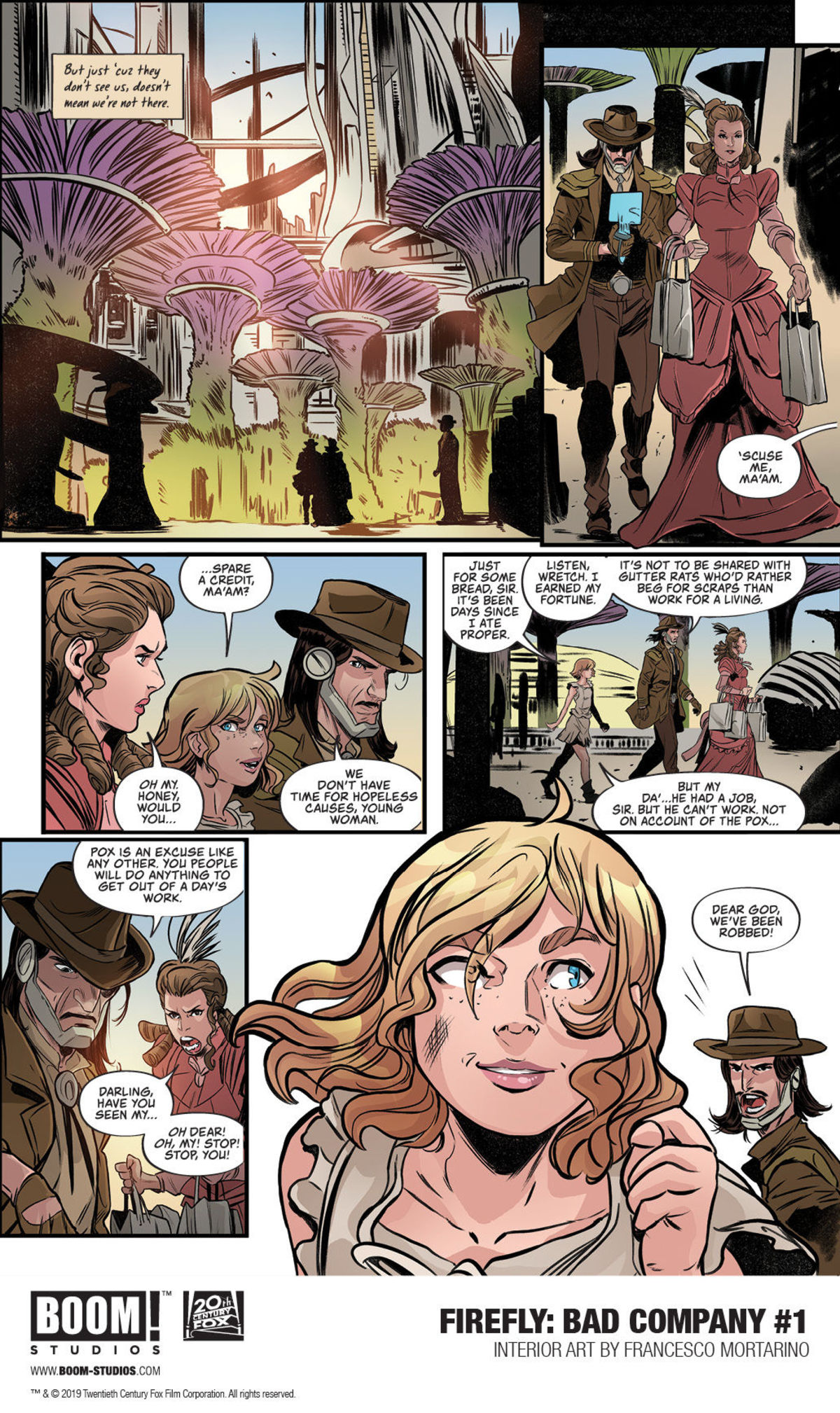 First Look: Boom!'s new Firefly: Bad Company #1 reveals the