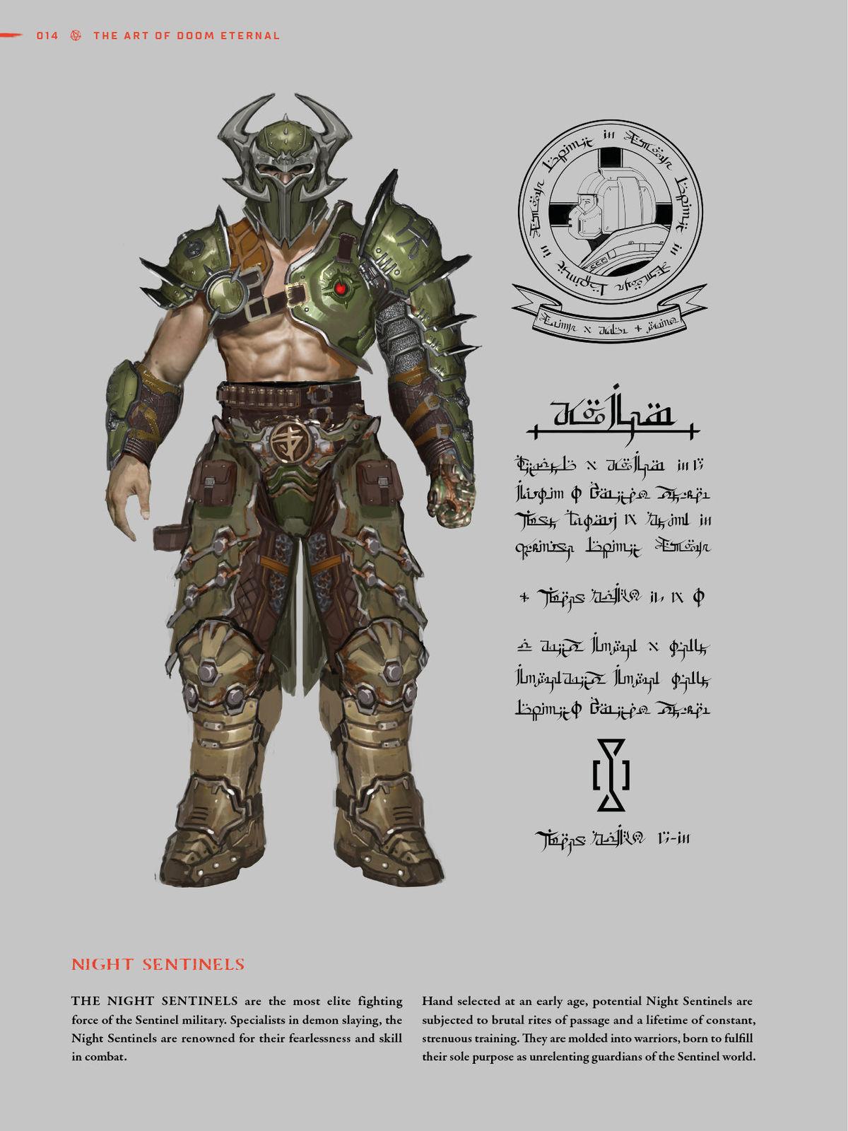 Preview For Dark Horse Books The Art Of Doom Eternal