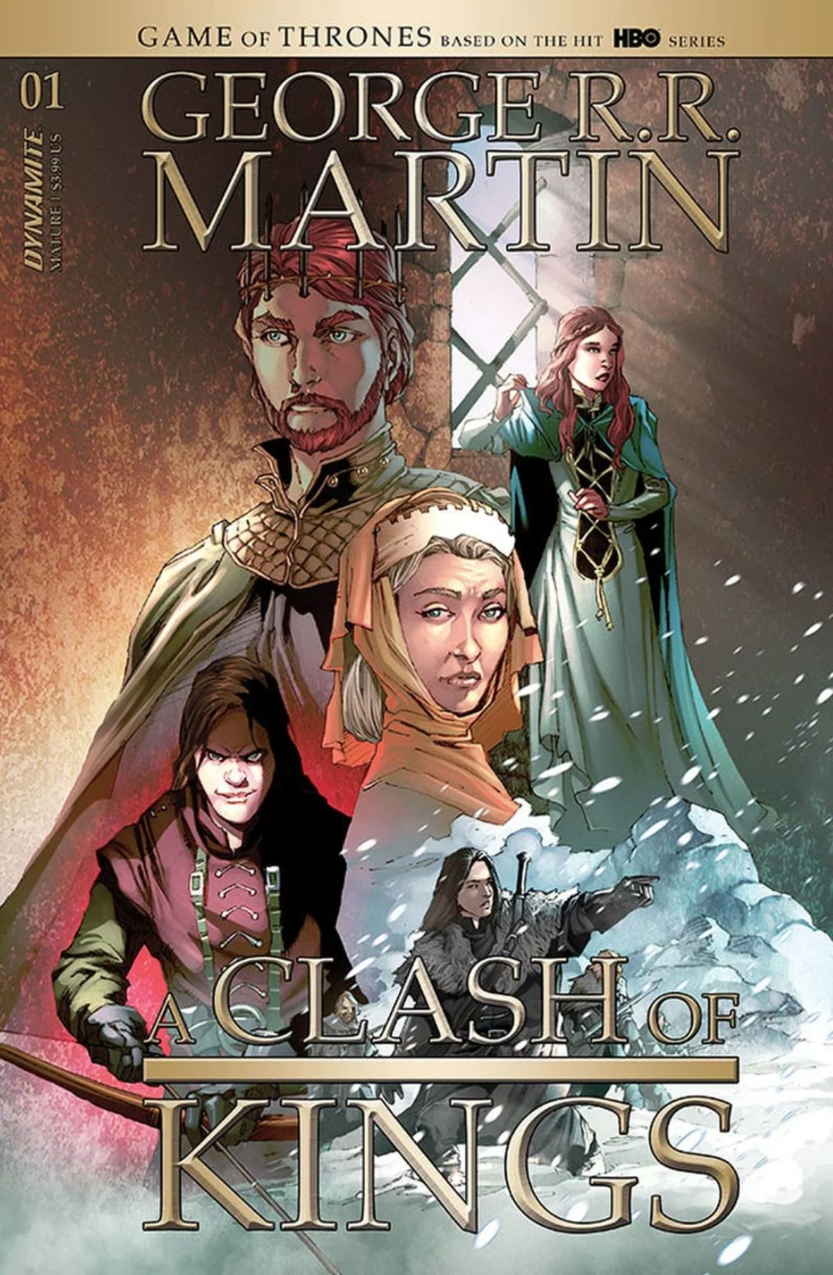 Preview for Dynamite Comics' new A Clash of Kings adaptation