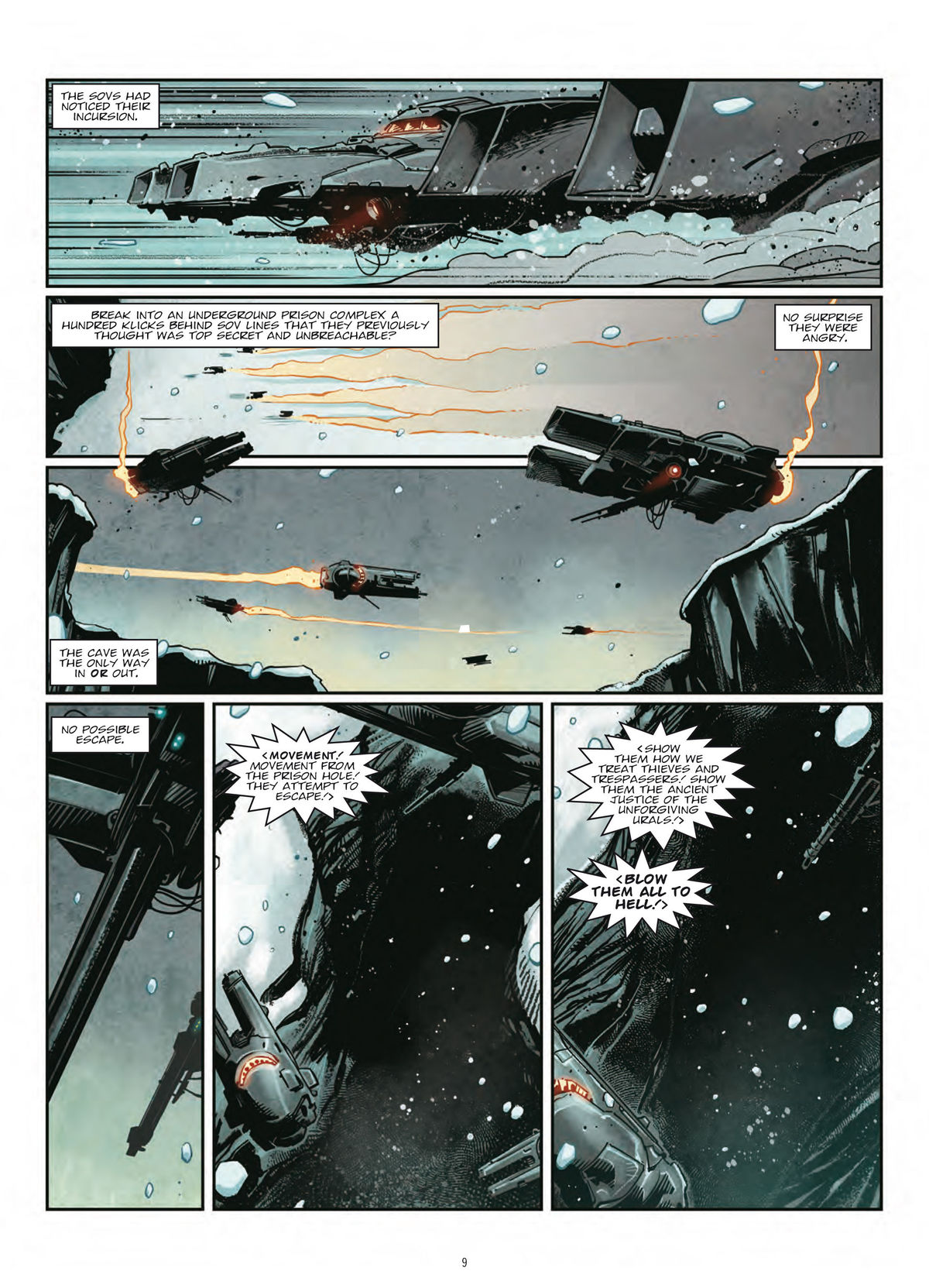 Exclusive preview: Fortify your winter with 2000 AD's frosty