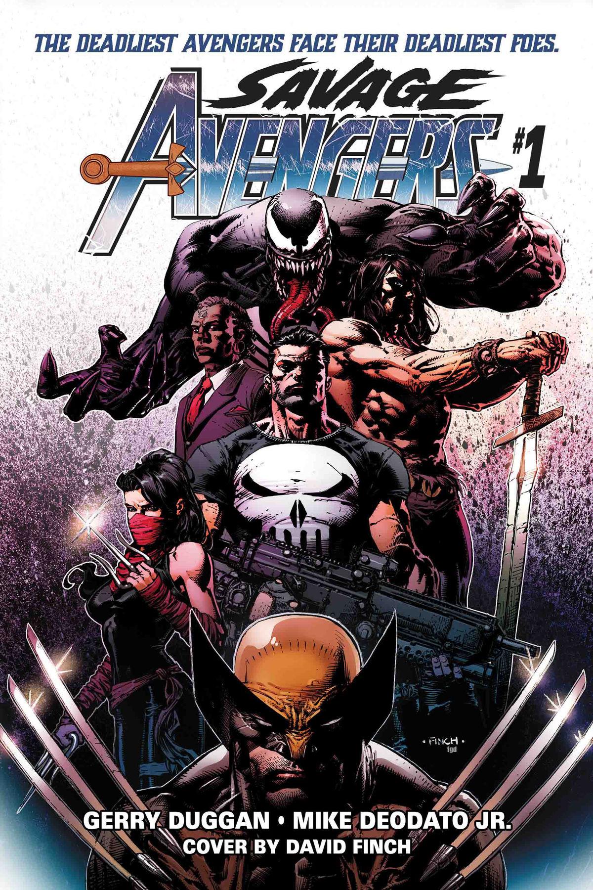 Gerry Duggan adds Conan to Earth's Mightiest Heroes in Marvel's