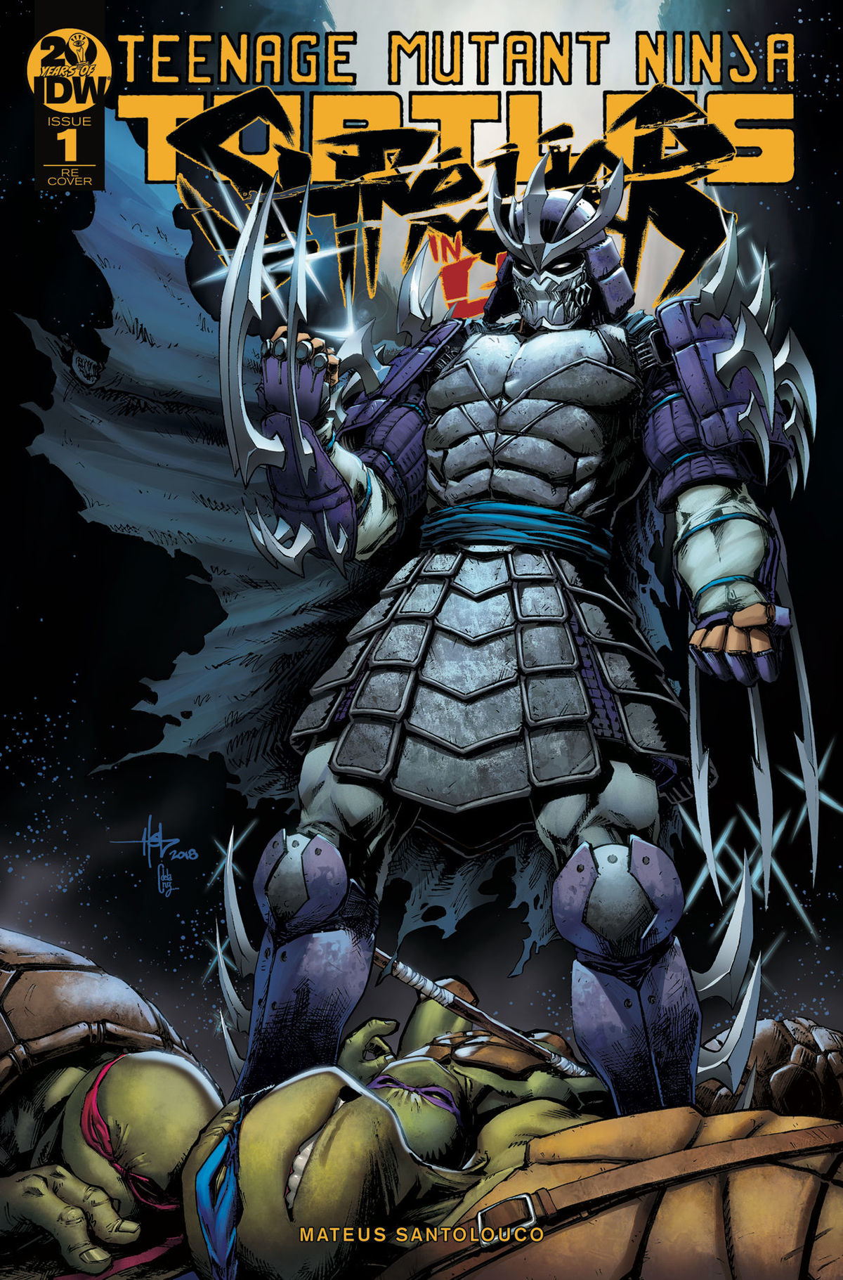 Exclusive Preview Oroku Saki Enters The Underworld With Idw S