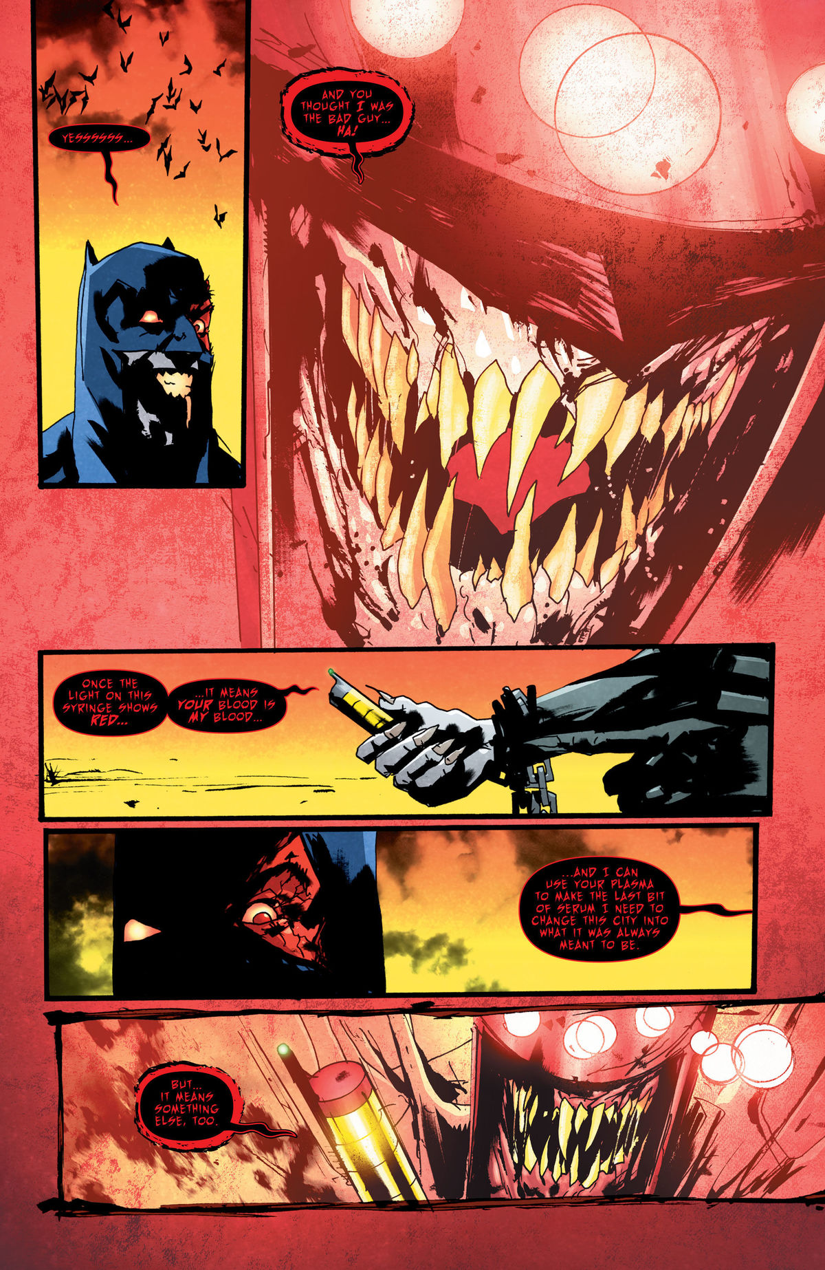 Exclusive Preview of the finale of The Batman Who Laughs #7