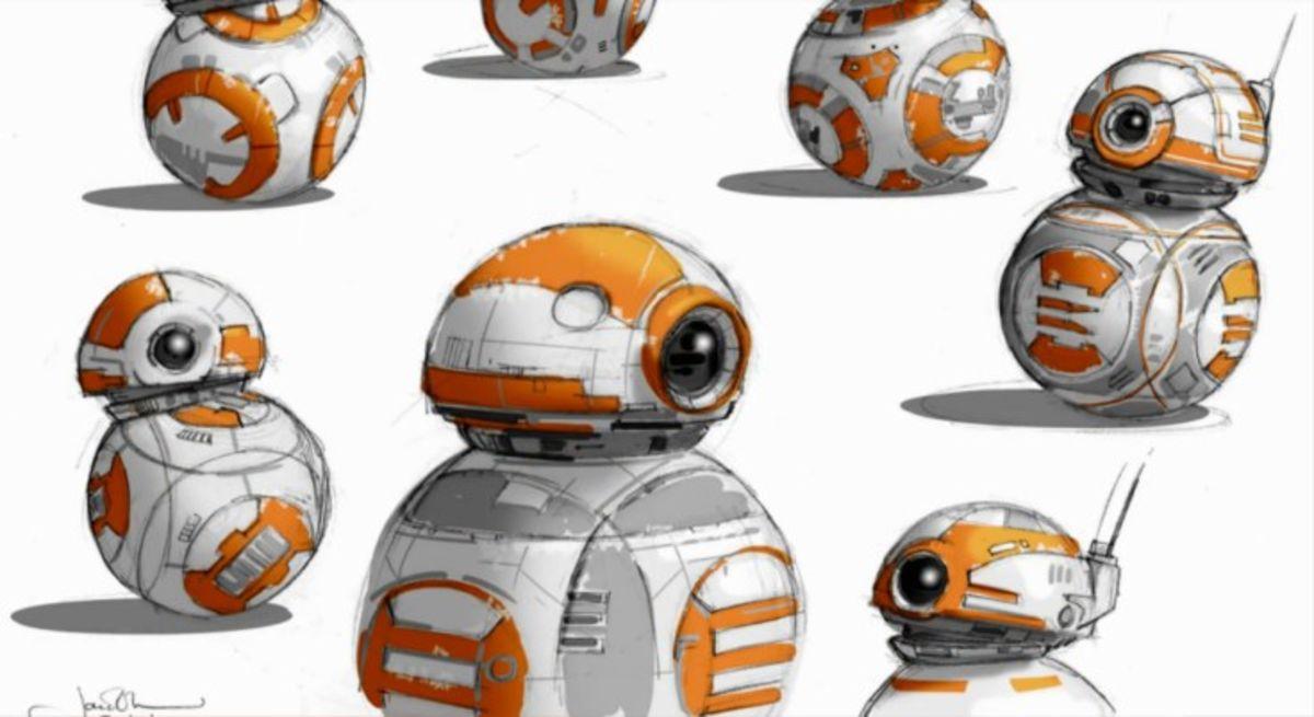 Ball Robot Concept Art
