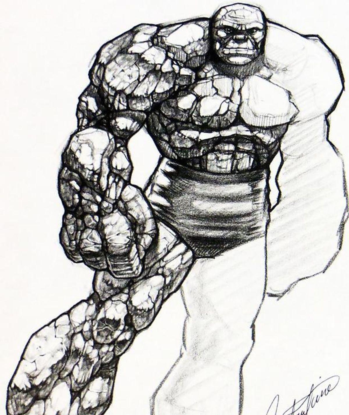 concept art doom slayer drawing