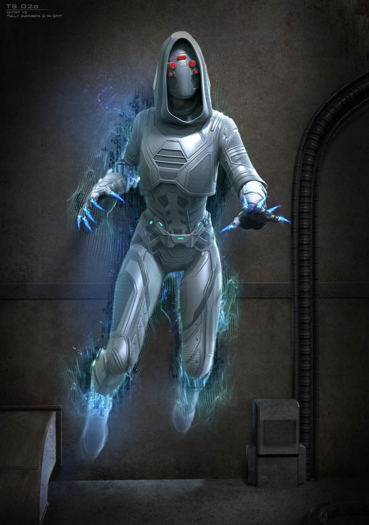 Ant Man And The Wasp Ghost Originally Had Claws But Was