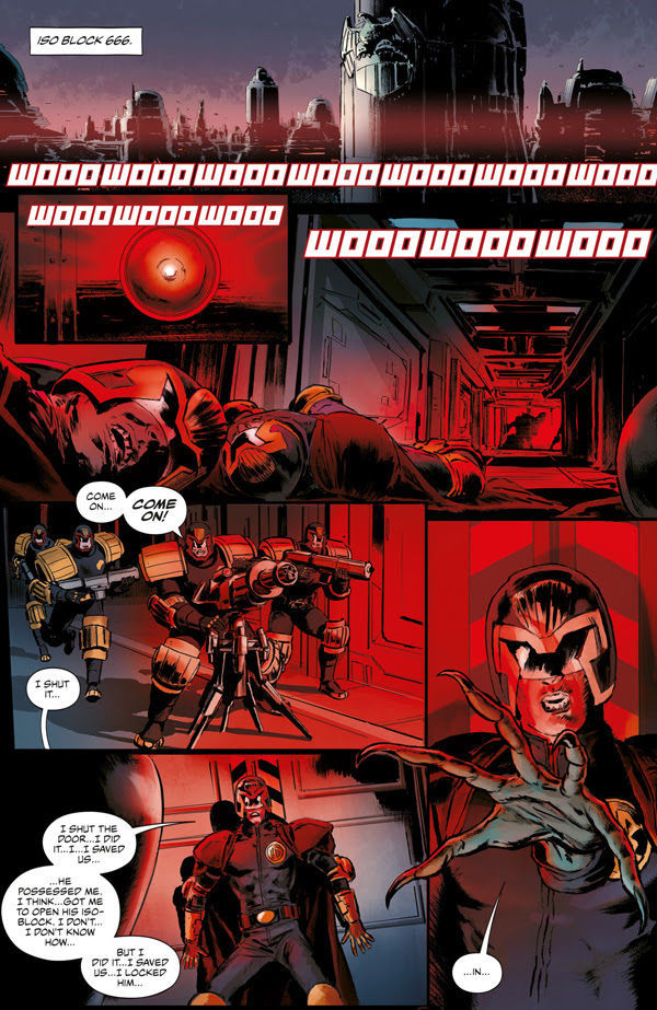 2000AD Villains Page 1