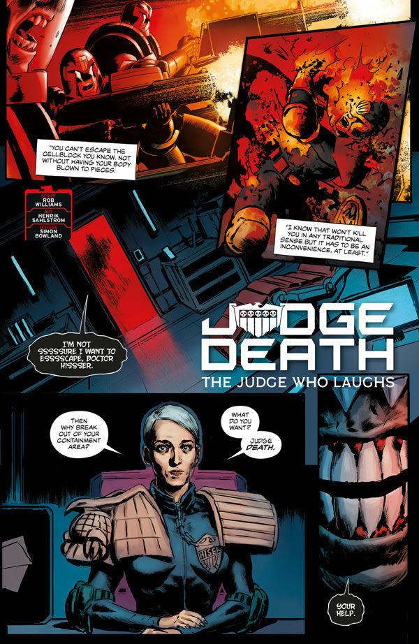 2000AD Villains Page 2